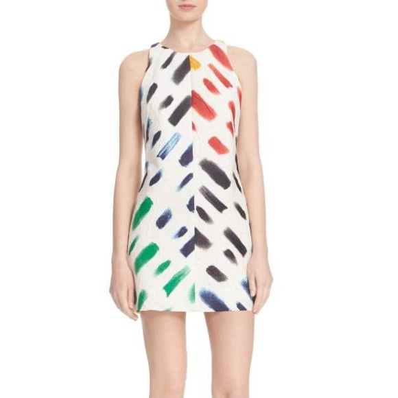 Milly Brushstroke Sheath Dress